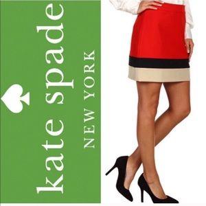 Women's Kate Spade Color Black Mini Skirt Size 4